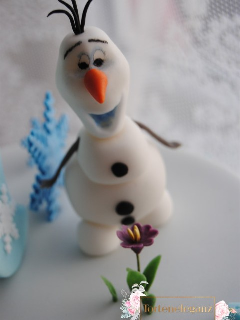 Olaf Torte die Eiskönigin Olaf findet die Blume schick