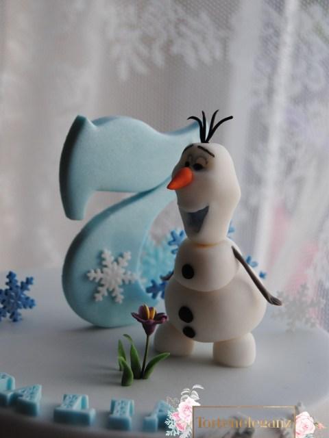 Olaf Torte die Eiskönigin zum 7 Geburtstag