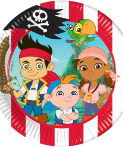pappteller captain jake party paperplate