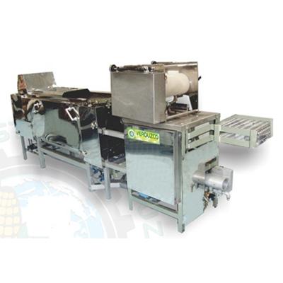 Máquina Tortilladora TVRD-100 Dúplex (RODILLOS)