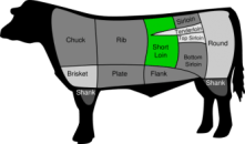 Strip Steak location
