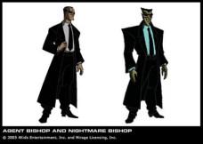 Agent Bishop and nightmare Bishop (BTTS) 2k3S4E8