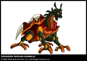 Dragon Michelangelo série TV 2003