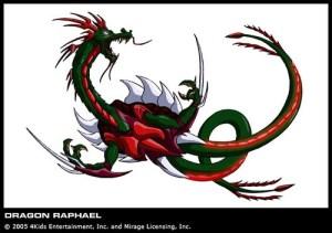Dragon Raphael série TV 2003