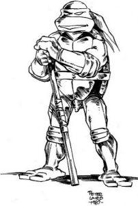 Donatello par Peter Laird (1987)