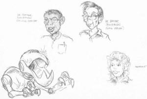 Baxter Mouser et Assistante comics Mirage Vol1 1984 Peter Laird