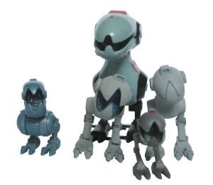 Comparaison Mousers figurines