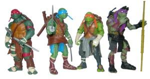 Figurines Ninja Turtles Film 2014