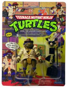 Blister 4 Don the undercover turtle 1990