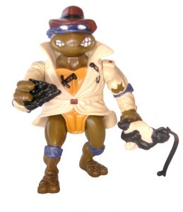 Figurine Don the undercover turtle 1990 5