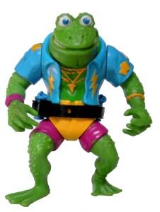 Figurine Genghis Frog 1989