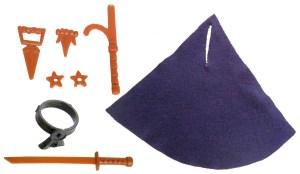 Accessoires Shredder 1988