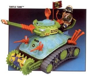 Véhicule Turtle Tank 1991
