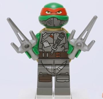 Raphael Série 2 (Mutation Chamber Unleashed Lego 2014Mutation chamber unleashed)