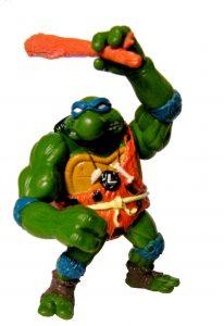 Figurine Cave Turtle Leo 1992 Tortues Ninja TMNT