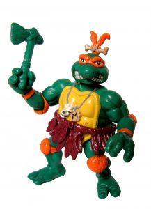 Figurine Cave Turtle Mike 1993 Tortues Ninja TMNT