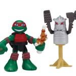 Figurine HSH Dojo Raph with training Shredder dummy 2015 Tortues Ninja TMNT