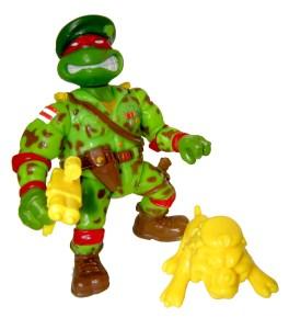 Figurine Raph the green teen beret 1991
