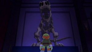 Tortues Ninja TMNT Half-Shell Heroes Blast to the past - Michelangelo tyrannosaure