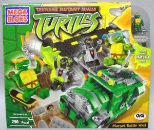 Boîte Battle Shell Bridge 2003 Megabloks Tortues Ninja TMNT