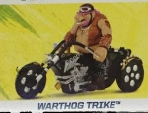 Figurine Véhicule Image Warthog Trike Film Ninja Turtles 2016 Tortues Ninja TMNT