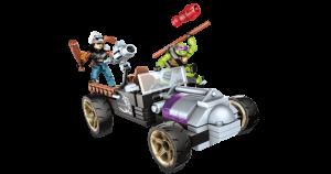 Set Donnie Turtle Racer 2016 Megabloks Tortues Ninja TMNT