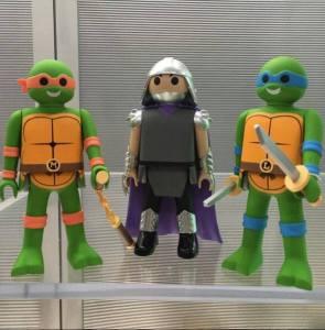 Funko Playmobil 2016 Tortues Ninja Turtles TMNT
