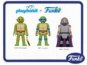 Playmobil Funko 2016 Tortues Ninja Turtles TMNT