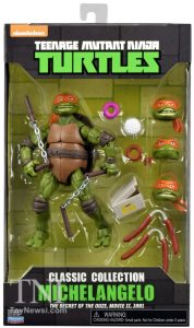 Blister Classic Collection Michelangelo The Secret of the Ooze 2016 Tortues Ninja Turtles TMNT