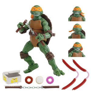 Figurine Classic Collection Michelangelo The Secret of the Ooze 2016 Tortues Ninja Turtles TMNT