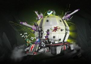Technodrome Megabloks 2016 Tortues Ninja Turtles TMNT