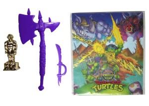 Accessoires violets Warrior Bebop 1994 Tortues Ninja Turtles TMNT