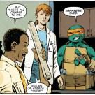 TMNT #72 IDW Comic 2 Michelangelo April O'Neil Baxter Stockman Tortues Ninja Turtles TMNT