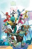 Couverture A Dan Mora Crossover Power Rangers Tortues Ninja Boom Comics Tortues Ninja Turtles TMNT_2-min