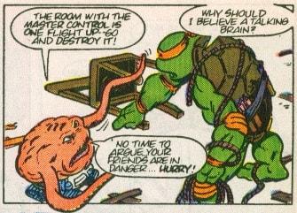 TMNT Aventures Mini-Series #2 9 Michaelangelo Krang Archie Comics Tortues Ninja Turtles TMNT-min