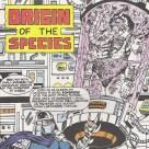 TMNT #71 Origin of the species Archie comics 2 Shredder Manmoth Tortues Ninja Turtles TMNT