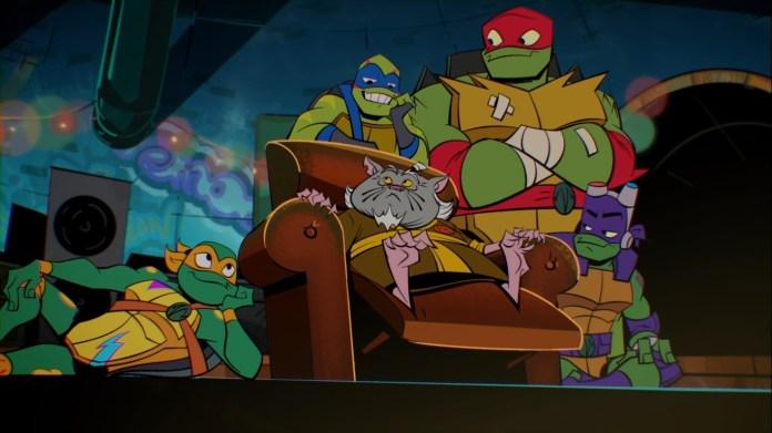 144 Série TV 2018 9 Splinter Tortues Ninja Turtles TMNT