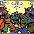 TMNT Adventures #6 Archie Comics 4 Bebop Leatherhead Rocksteady Tortues Ninja Turtles TMNT