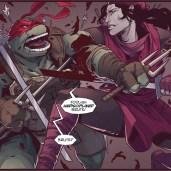 The last ronin #2 IDW Comic 12 Raphael Karai Tortues Ninja Turtles TMNT