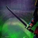 Figurine Leo sewer samurai Super7 2022 Tortues Ninja Turtles TMNT_3