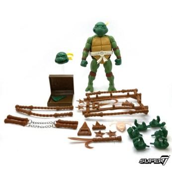 Prototype Michelangleo TMNT Ultimates Super7 Tortues Ninja Turtles TMNT_1