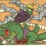 TMNT Adventures #13 Archie Comics 4 Leatherhead Malignoid Tortues Ninja Turtles TMNT