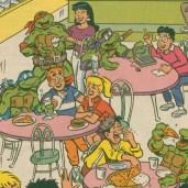 TMNT Meet Archie Comics 7 Tortues Ninja Turtles TMNT
