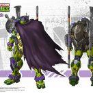 Concept art Donatello Snap Finger HeatBoys Tortues Ninja Turtles TMNT_1
