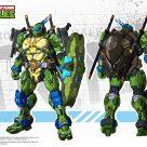 Concept art Leonardo Snap Finger HeatBoys Tortues Ninja Turtles TMNT_1