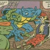 TMNT Meet Archie Comics 2 Red sails in the sunset 4 April Man Ray pirates Tortues Ninja Turtles TMNT