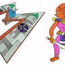 Arkwind et Ninjara