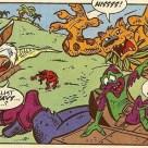 TMNT Adventures Mini Series Mighty Mutanimals #2 Archie Comics 2 Jagwar Wingnut Screwloose Man Ray Cudley Leatherhead Tortues Ninja Turtles TMNT