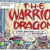 TMNT Magazine #2 Welsh Publishing Comic 1990 1 Warrior dragon Tortues Ninja Turtles TMNT