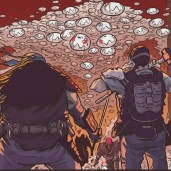 The last ronin #3 IDW Comic 18 Mouser Robot Foot soldier Casey Jones Leonardo Tortues Ninja Turtles TMNT
